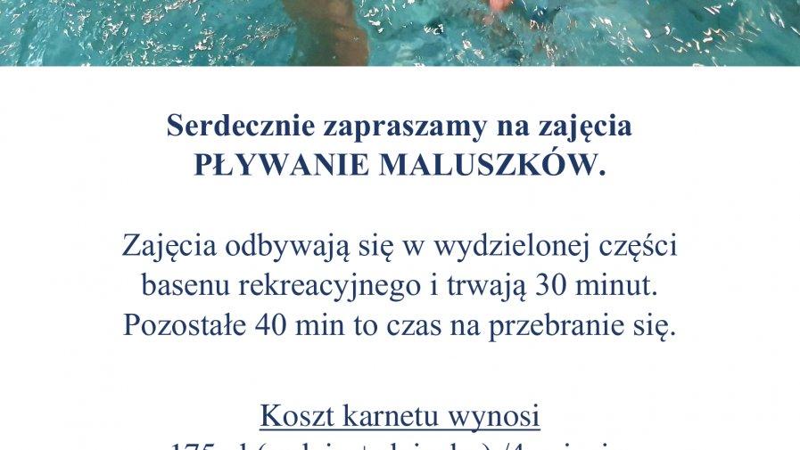 Pływanie maluszków 2021.